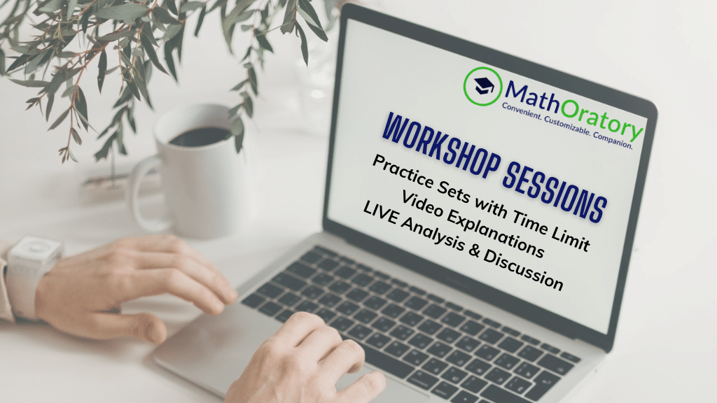LIVE Workshops for CAT XAT NMAT SNAP IIFT