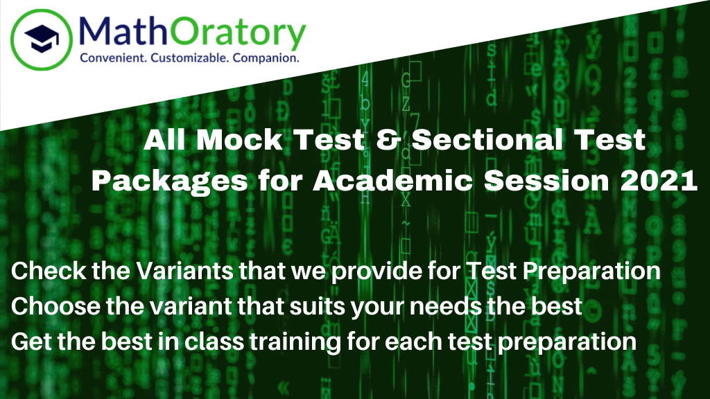Mock CAT and Mock OMETs with Sectional Tests and One to One Analysis