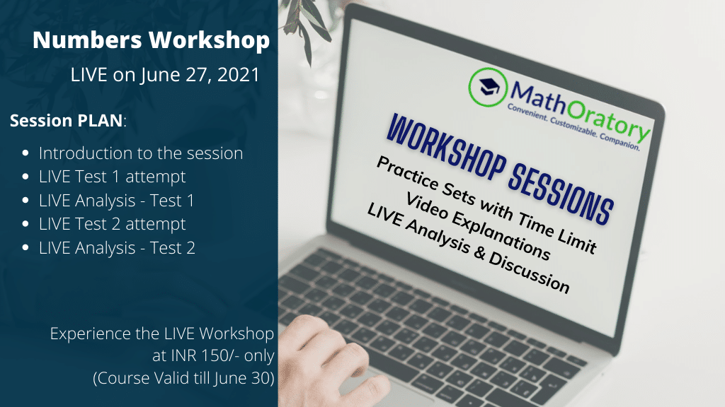LIVE Numbers Workshop by MathOratory